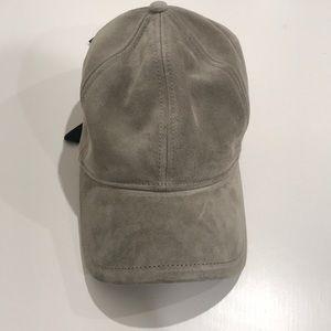 Rag & bone adjustable suede hat with tags